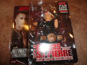 GSP GEORGES ST. PIERRE UFC RARE FAN EXPO FIGURE LIMITED TO 1,000