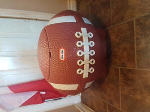 Football toy box. $25 obo