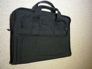 Tumi Men's Alpha Nylon Laptop Briefcase/Organizer Black $70