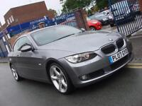 2007 07 PLATE BMW 325i 3.0 SE Auto Cabriolet / Convertible in Grey