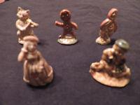lot de 21 figurines vintage Wade England