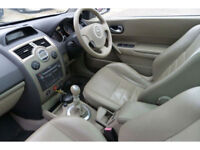 Renault Megane Privilege CC Convertible**58,000 Genuine Miles**Top Of The Range*
