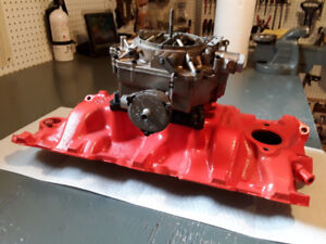 INTAKE MANIFOLD  and Rochester carb