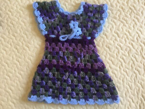 Handmade new born girl outfits; proceeds go to donation.