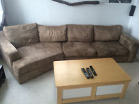 2 pice sectional