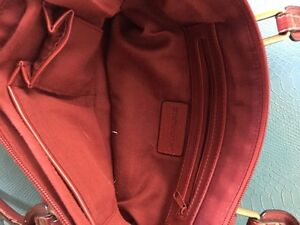 Red Full leather purse Peterborough Peterborough Area image 2