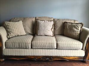 Nice Canadian made sofa and matching love seat