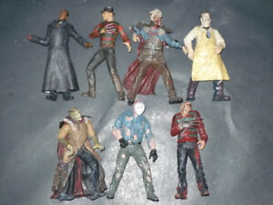 Mcfarlane Freddie Jason Leatherface Horror
