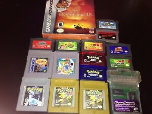Gameboy,Color,GBA Games For sale Pokemon Game SHark Ect