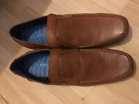 £10 Brand new size 12 leather shoes never worn