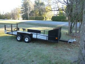 Great condition 12 ft x 4 ft trailer with ramp !!