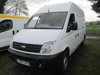 2007 LDV Maxus diesel hi top lwb 1 owner pas sld euro 4 boarded in rear