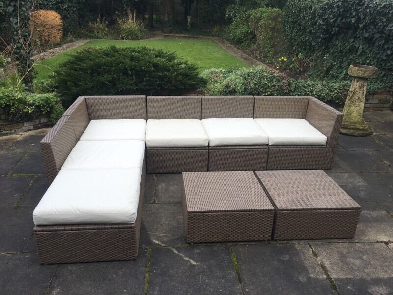 Garden lounge furniture sofa set IKEA Arholma