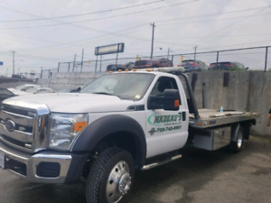 2015 Ford f550 flatbed Tow truck