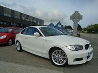 2010 (10) BMW 118d M SPORT COUPE 120d White Manual A/C FSH