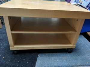 Rolling tv stand