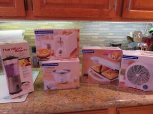 Kitchen Counter Top Appliances - new in the boxes