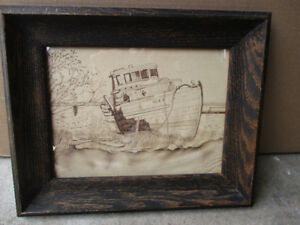 Drawing of a boat-Make an offer!!!