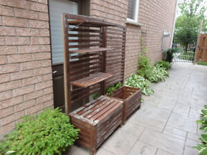 Two Red Cedar Planter Box With Trellis and Shelves -$120.00/ea Kitchener / Waterloo Kitchener Area image 10