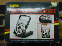 World Famous Portable Fan & Light for Camping