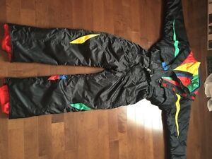 K-Way men's one piece ski suit jacket pants $150