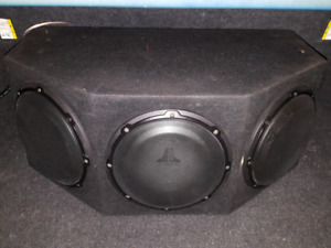 JL Audio Tripple 10w1v2 Subs