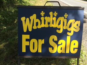 Whirligigs!!!!!  Large selection!!!