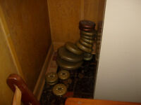 Weights Just the dumbells.
