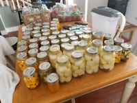 Homemade Pickled Items and Sauces for Sale