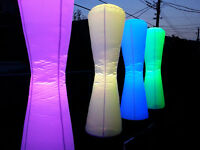 LOCATION DES LED INFLATABLE DECO RGB