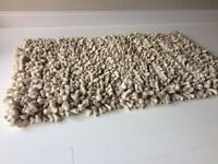 Art on the floor wool pile rug 5ft by 3ft Amazing quality mat / rug £45 !!!!!