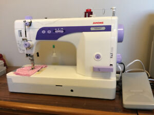 Janome 1600P Sewing Machine (Travel Suitcase & Extras included)