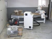 CNC Router (4 x 8) for Woodworking, Aluminum, Plastics, etc.