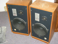 """Studio Lab speakers with """"CRUNCH"""" woofers"""