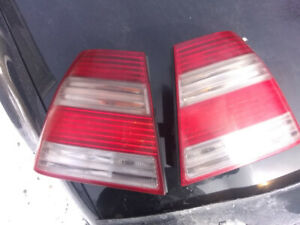 Volkswagen Jetta rear taillights,candy canes