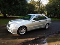 2007 Mercedes-Benz C220 CDI Auto SE 1 FORMER KEEPER, FSH ,CLIMATE, CRUISE £2695 A4 BMW3 SIZE