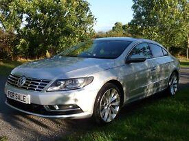 Volkswagen CC 2.0 TDI GT BLUEMOTION TECHNOLOGY DSG 140PS (aluminium/silver) 2013