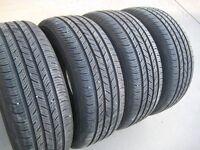 New set of 4 - 215/55R16 Continental ContiProContact tires