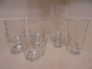 Drinking glasses, 8 pieces