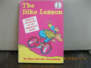 1964   THE    BIKE   LESSON     BERENSTAIN