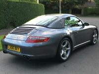 2006 Porsche 911 997 3.8 Carrera C4S 350BHP 4WD Convertible. Matching Hard Top.