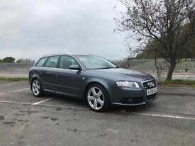 Audi A4 2.0 tdi s line avant finance available from £30 per week