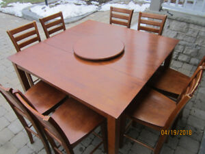 Pub Style Dining Table Set