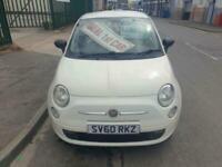 2010 FIAT 500 POP , MILES 77,000 , £30 ROAD TAX , MOT16/11/21 , 1242CC
