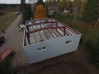 Steel Building Sales and Erecting Services in Cornwall