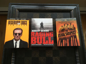 "Reservoir Dogs - Raging Bull - Usual Suspects ""Special Editions"""