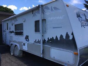 kodiak ultra light travel trailer