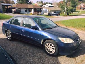 2005 Honda Civic Ex Sedan