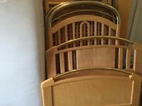 Bedroom Furniture Including Crib and Single Bed