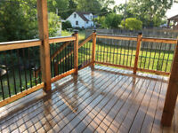 Decks and fence construction